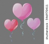 Transparent Heart Air Balloon...