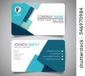 blue modern creative business... | Shutterstock .eps vector #546970984
