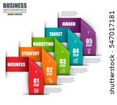 infographic business lebel data ... | Shutterstock .eps vector #547017181