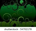 green swirl abstract background | Shutterstock .eps vector #54702178