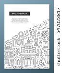 back to school   education...   Shutterstock .eps vector #547023817