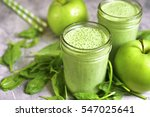 Spinach Apple Smoothie In A...