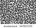 Stock vector leopard pattern texture repeating seamless monochrome black white 547027255