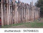 u bein bridge in mandalay | Shutterstock . vector #547048321