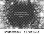 abstract bright white shimmer... | Shutterstock .eps vector #547057615