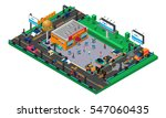 future isometric composition... | Shutterstock .eps vector #547060435