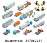 transportation isometric... | Shutterstock .eps vector #547062154