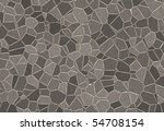 abstract stones pavement... | Shutterstock . vector #54708154