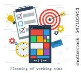 vector concept time management...