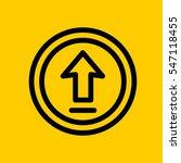 upload icon. isolated sign...
