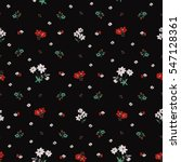 seamless floral pattern in... | Shutterstock .eps vector #547128361