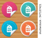 round stickers or website... | Shutterstock .eps vector #547137421
