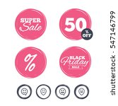 super sale and black friday... | Shutterstock .eps vector #547146799