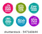vector set colorful labels for... | Shutterstock .eps vector #547160644