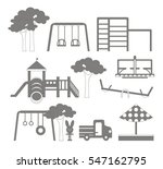 icons set of different... | Shutterstock . vector #547162795