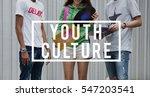 entertainment music teenagers... | Shutterstock . vector #547203541