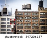 old vintage apartment buildings ...   Shutterstock . vector #547206157