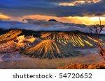 bromo tengger semeru national... | Shutterstock . vector #54720652