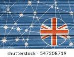 australia flag design concept.... | Shutterstock . vector #547208719