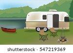 mobile camping   Shutterstock .eps vector #547219369