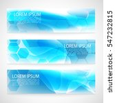 design banner abstract blue... | Shutterstock .eps vector #547232815