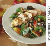 Gourmet Chicken Salad On A...