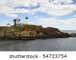 A Lighthouse And Keepers...