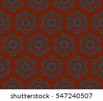 modern geometric seamless... | Shutterstock .eps vector #547240507