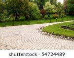 cobblestone drive | Shutterstock . vector #54724489
