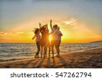 group of happy young people...   Shutterstock . vector #547262794