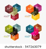 business geometric layouts... | Shutterstock . vector #547263079