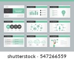page layout design template for ... | Shutterstock .eps vector #547266559