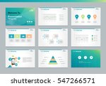 page layout design template for ... | Shutterstock .eps vector #547266571