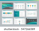 page layout design template for ... | Shutterstock .eps vector #547266589