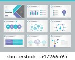 page layout design template for ... | Shutterstock .eps vector #547266595