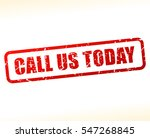 illustration of call us today... | Shutterstock .eps vector #547268845