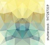 polygonal vector background. ... | Shutterstock .eps vector #547287319