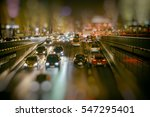 abstract blur city night... | Shutterstock . vector #547295401
