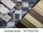 kitchen cabinets and... | Shutterstock . vector #547322701