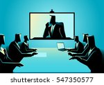 business concept illustration... | Shutterstock .eps vector #547350577