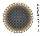 light circle board. round... | Shutterstock .eps vector #547388299