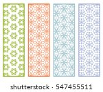 decorative lace borders... | Shutterstock .eps vector #547455511