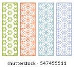 decorative lace borders... | Shutterstock .eps vector #547455511