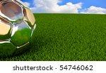 winning ball on the field   Shutterstock . vector #54746062