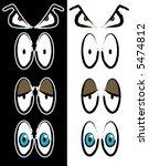 cartoon eyes | Shutterstock . vector #5474812