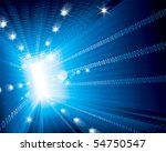 abstract technology background... | Shutterstock .eps vector #54750547