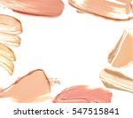 frame of make up liquid... | Shutterstock . vector #547515841