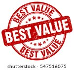 best value. stamp. red round... | Shutterstock .eps vector #547516075