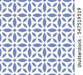 vector color pattern. geometric ... | Shutterstock .eps vector #547519519