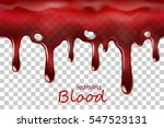 Seamless Dripping Blood...